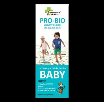 Pro-Bio Baby kvapky | Výživové doplnky | Slovakiapharm